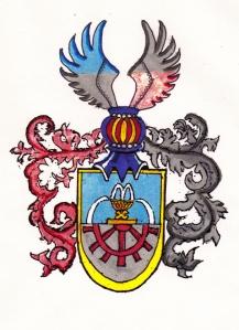Wappen eines k. u. k. Majors a.D.